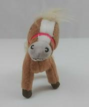 "Vintage Strawberry Shortcake Brown Horse 4"" Tall  x 2.5"" Wide Plush Kenn... - $9.74"