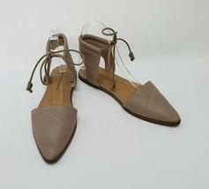 Lucky Brand Shoes Beige Flats Lace Mabonnee Womens Size US 7 M / EU 37 - $49.45