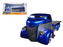 1947 Ford COE Silver / Blue 1/24 Diecast Car Model by Jada - $33.64