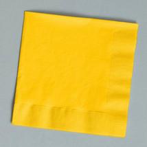 Yellow Beverage Napkins (30) - $4.28