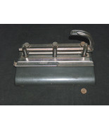 Master products MFG CO Los Angeles 23 Series 25, 3 Hole Paper Punch Made... - $26.71