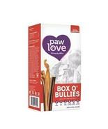 Paw Love Box O' Bullies Dog Treats (6oz. Box) - Natural Scent Beef Bully... - $28.49