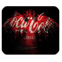 Mouse Pad Coca Cola Classic Logo Symbol Soft Drink Atlanta For Gaming Fantasy  - $9.00
