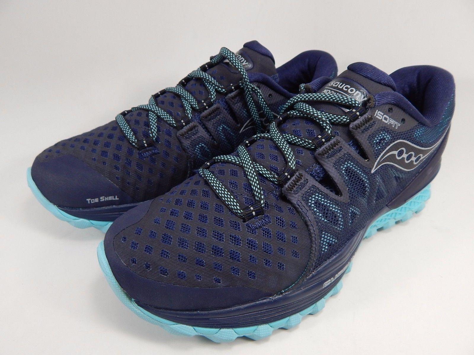 Saucony Xodus ISO 2 Women's Running Shoes Size US 8 M (B) EU 39 Blue S10387-4