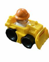 Fisher Price Little People wheelies construction  Bull dozer truck Driver Hat - $7.91