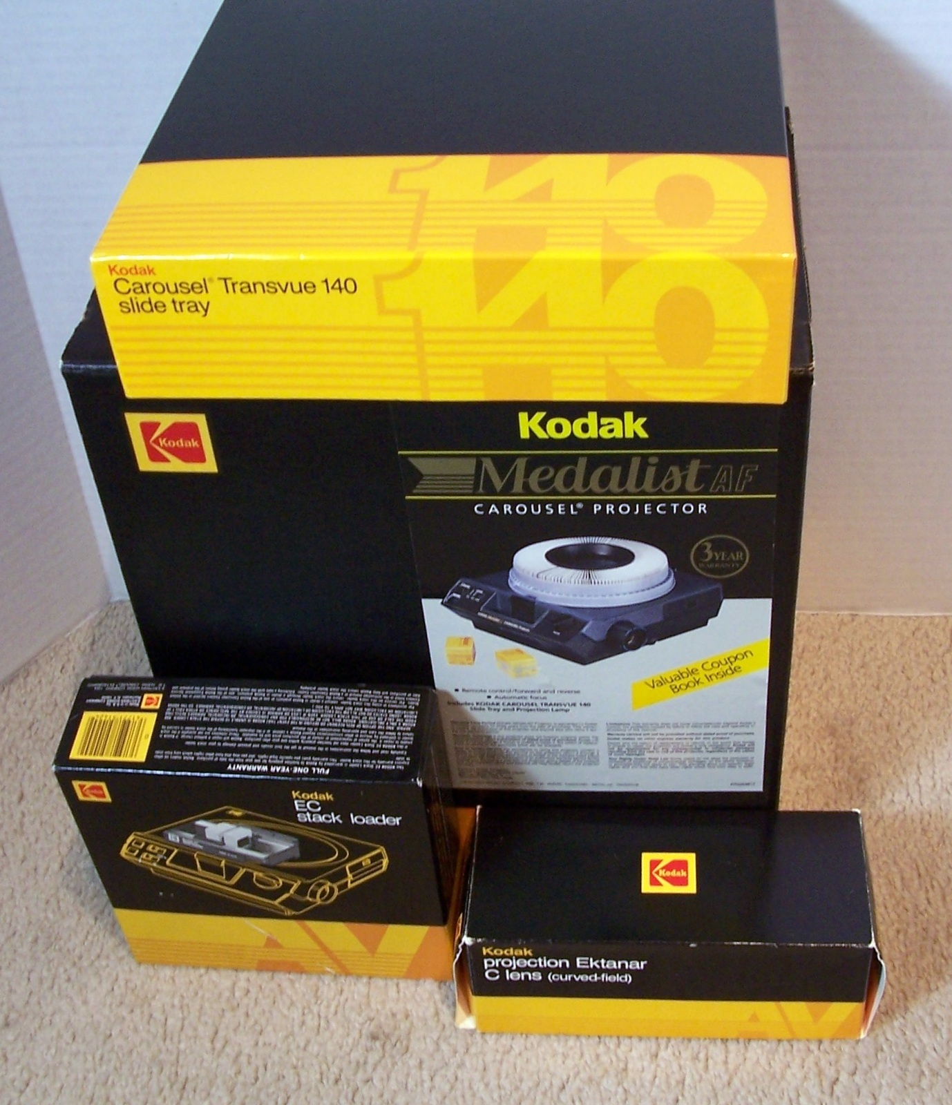 Primary image for Kodak Medalist AF Carousel Slide Projector - Complete - EC Stack Loader Included