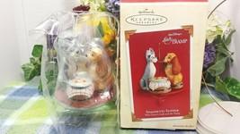 Hallmark Disney Lady and the Tramp Spaghetti Supper ornament 2003 - $27.47
