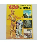 The Star Wars Question and Answer Book About Space by Moche, Dinah L Boo... - $11.40
