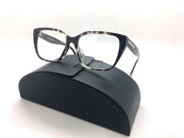 Prada Red & White Marble VPR08T-F U6K-1O1 Eyeglasses 51mm w/Case - $87.27