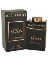 Bvlgari Man In Black By Bvlgari Eau De Parfum Spray 3.4 Oz For Men - $76.43