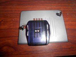 Huskvarna E10 Zig Zag Throat Plate w/2 Screws & Darning Plate (Feed Dog Cover) - $15.00