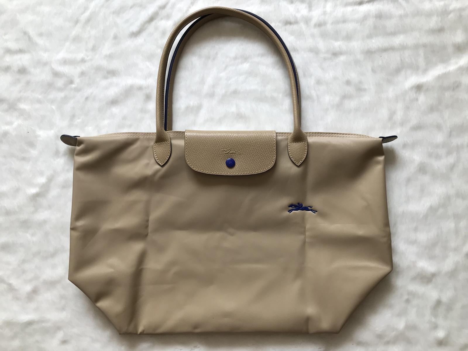 Longchamp Club Le Pliage Bag Beige Large L1899619841