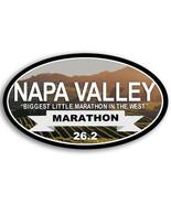 """5"""" NAPA VALLEY 26.2 MARATHON BUMPER DECAL STICKER USA MADE - $16.14"""