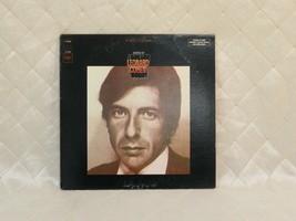 "Songs of Leonard Cohen 12"" Vinyl Record 33rpm Columbia Canada 1967 - $9.74"