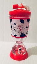 Disney Store 101 Dalmations Snow Globe Dome Tumbler Cup New - $26.72