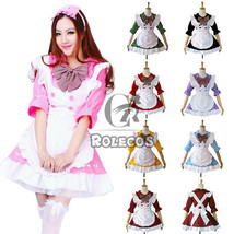Lolita Princess Maid Outfit Apron Dress Housemaid Uniform Anime Cosplay ... - $41.99