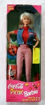 Barbie Picnic Coca-Cola Doll Mattel 19626 Special Edition 1997 - $14.84