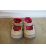 New Surprize Shoes By Stride Rite For Toddlers Silver And Pink Girls Sz 5 Eur 21 - $14.24