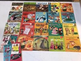 Lot of 21 Vintage 1960's Walt Disney Disneyland Vista 45 RPM Records 45's - $69.95
