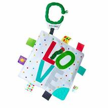 KIDS PREFERRED World of Eric Carle Double Sided Teether Taggy Blanket fo... - $11.99