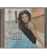 SHANIA TWAIN - GREATEST HITS 2002 EU CD COMPILATION ALBUM - $13.26