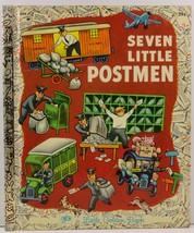 Seven Little Postmen Little Golden Book 504 - $4.75
