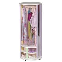 Dress Up Carousel Girl Playroom Costume Revolving Organization Storage F... - $245.12