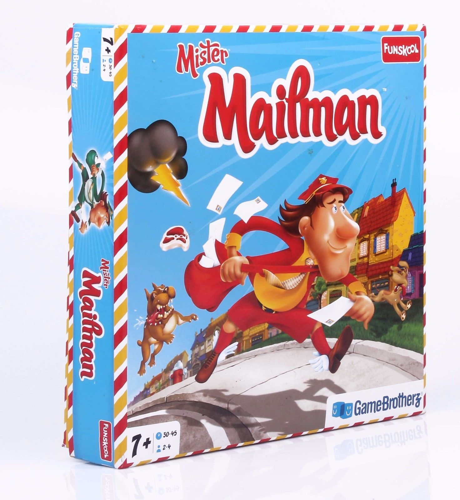Funskool Mr. Mailman Strategy Game Players 2-4 Age 7+