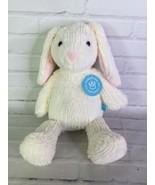 Manhattan Toy Adorables Cloud Bunny Rabbit Cream White Plush Stuffed Ani... - $35.63