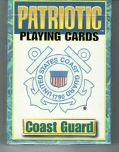 NEW SEALED U.S. UNITED STATES COAST GUARD PATRIOTIC PLAYING CARDS BICYCL... - $9.89