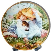 """A Time To Love"" Collector's Plate by Sandra Kuck, from the ""Our Childre... - $24.75"