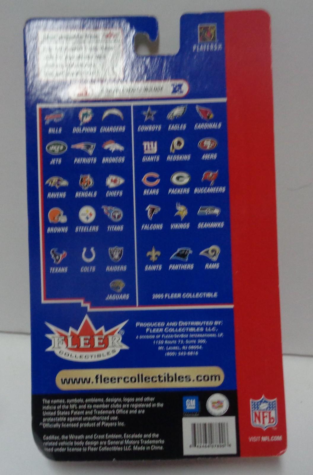 NFL Limited Edition Escalade Terrell Owens Players Card NIB