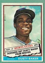 1976 Topps Traded Dusty Baker NM-MT #28T - $1.75