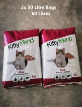 2x Sanicat Pink Cat Litter 30ltr - Free UPS Next Day Delivery UK Mainlan... - $43.68