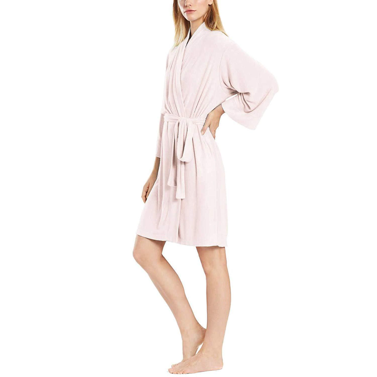 Primary image for Natori Women's Lightweight Terry Robe (Light Pink, L)