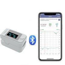 Phone Bluetooth Finger Clip Oximeter with Digital Heartbeat Monitor - $17.07+