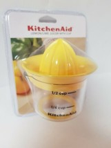 KITCHENAID LEMON LIME JUICER WITH MEASURING CUP - $10.99