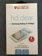 Zagg InvisibleShield HD Clear Screen Protector for Samsung Galaxy S6 edge. - $3.50