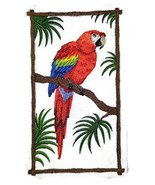 Nature weaved in threads, Amazing Birds Kingdom [Scarlet Macaw] [Custom ... - $12.86