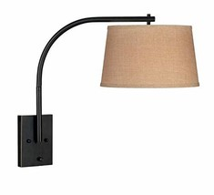 Kenroy Home 20950ORB Sweep Wall Mounted Swing Arm Lamp 21 Inch Height, 1... - $93.01