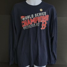 MLB Boston Red Sox World Series Champions 2018 Long Sleeve TShirt Adult XL -f - $22.99