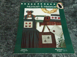 McIntosh & Mistletoe by Kevin O'Hara Schoolhouse Designs - $2.99