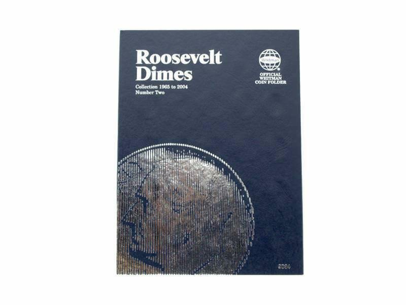Primary image for Roosevelt Dime # 2, 1965-2004 Coin Folder/Album by Whitman