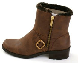 Anne Klein Brown Lyvia Ankle Boot Women's NEW - $52.49