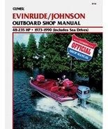 Clymer J/E 48 235Hp Manual - $19.97