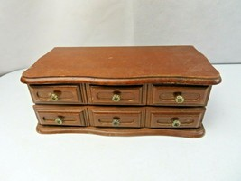 Mid Century Modern Wood Jewelry box - $30.00