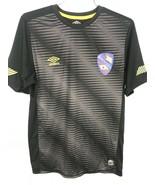 Umbro Barcelona T-shirt short-sleeved shirt soccer jersey Mens Small Black - $28.49