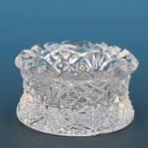 Vintage EAPG Pressed Glass Open Salt Flared