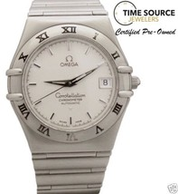 Omega Constellation Automatic 36mm Stainless White Dial Watch 368.1201 W... - $1,345.50
