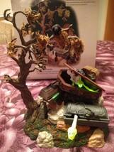 Dept 56 Halloween Village Accessories Animated Haunted Graveyard New Ret... - ₨3,191.48 INR